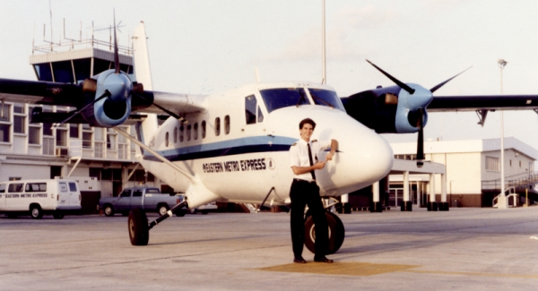 An exremely proud new first officer - age 20