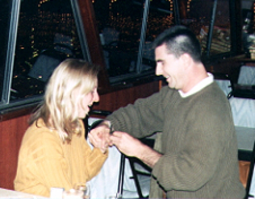 Engagement to Susanne