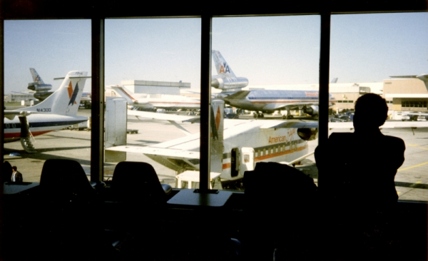 View from the terminal at JFK - 1986
