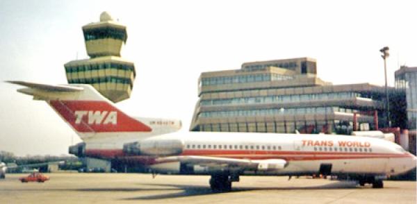 TWA 727 at Berlin-TXL