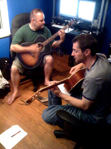 Cleveland & Steve playing