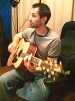 Greg Playing
