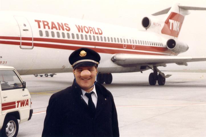 F/E Check Airman Bill Kessler