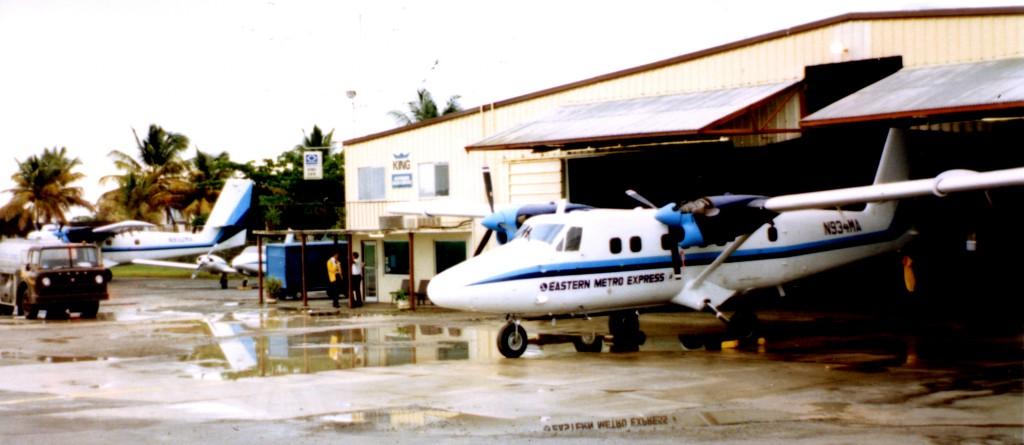 Eastern Express Operations and Mx Hangar at STX