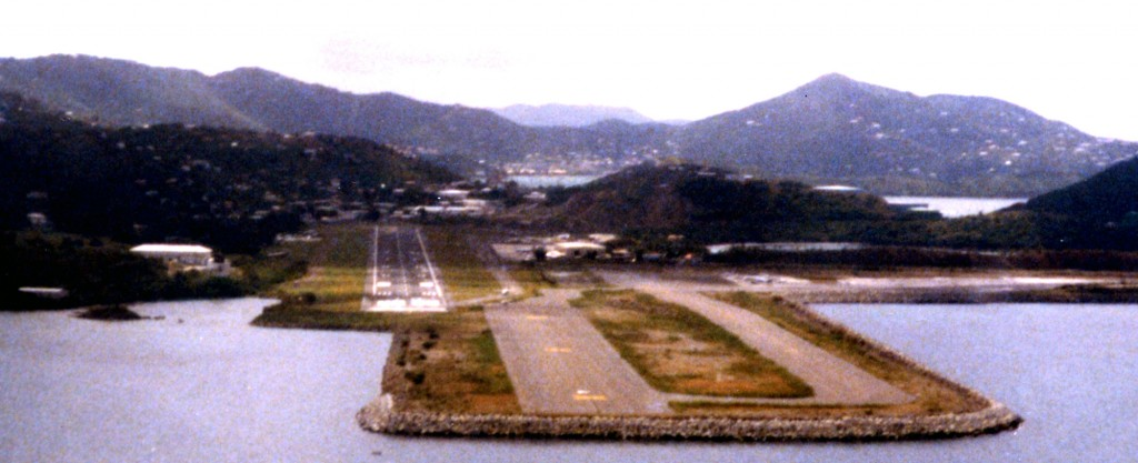 STT runways - old, and new under construction