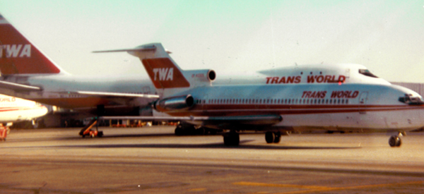 TWA 747 and 727 at JFK