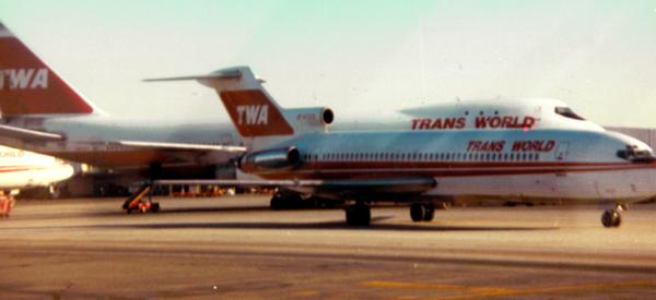 TWA 747 and 727 at JFK