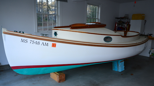 Catboat - stored 1
