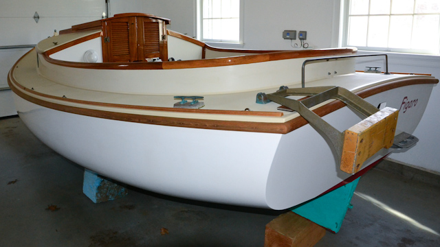 Catboat - stored 2