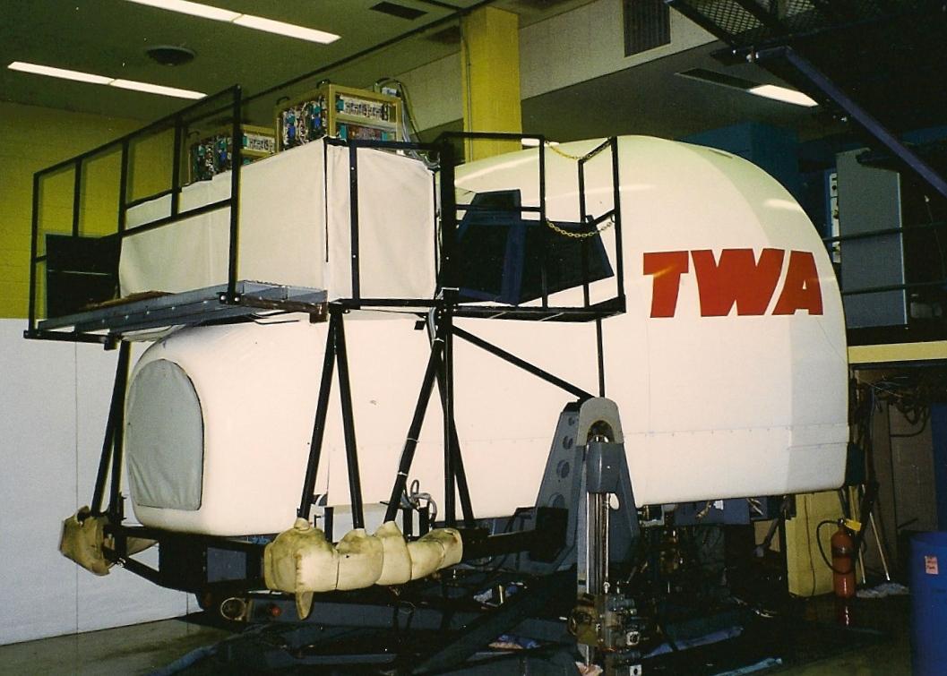 B727 3-Axis Sim. - Bldg 95 - KJFK - Summer 1996