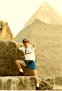 Chip on Great Pyramid