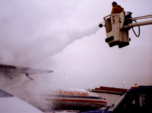 Deicing Our Counter-Weighted Wing