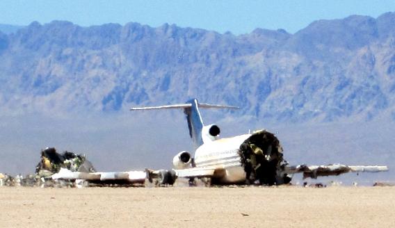 Desert Wreckage 568
