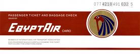 Egypt Air ticket