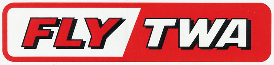 FLY TWA Sticker