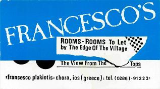 Francescos Rooms to Let