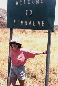 Katherine - Zimbabwe sign