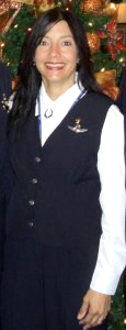 Nannette in uniform