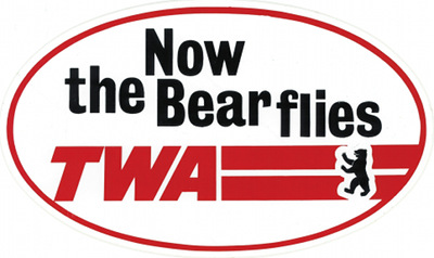 Now the Bear Flies TWA