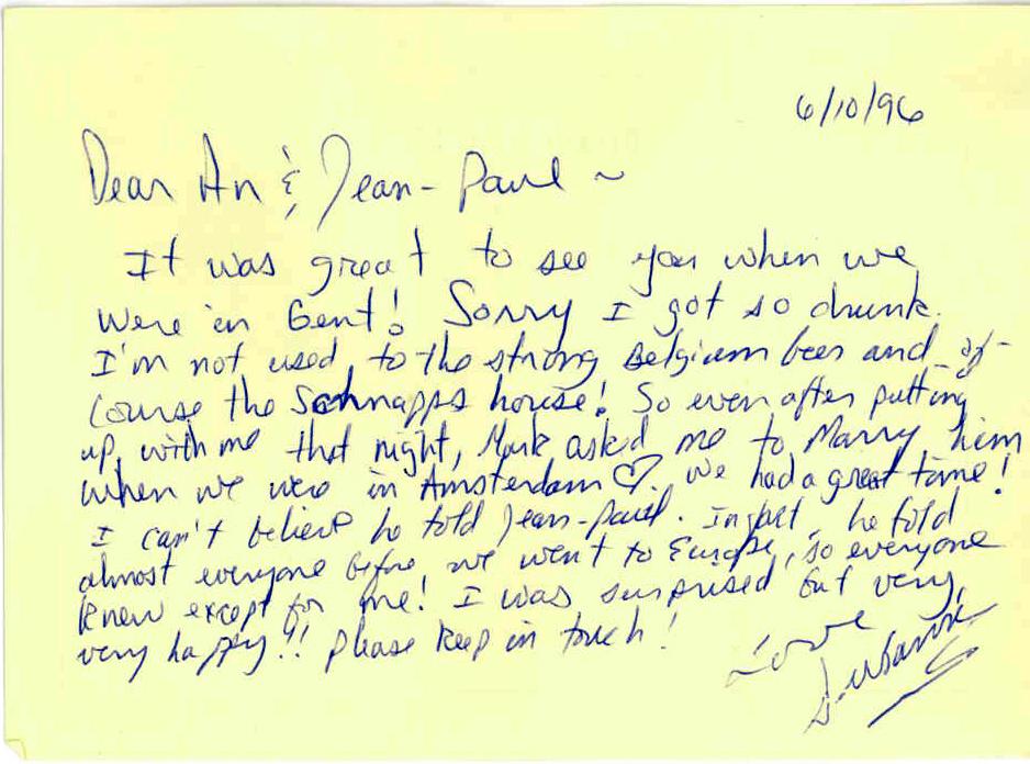 Susanne's Last Letter in print