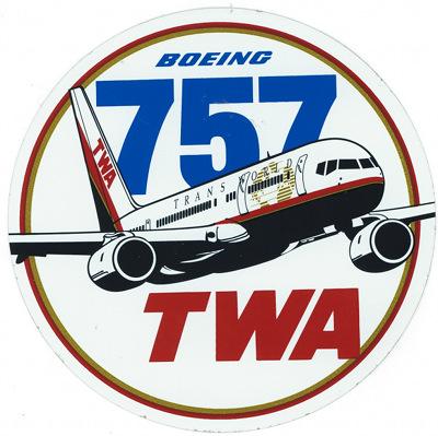 TWA 757 400