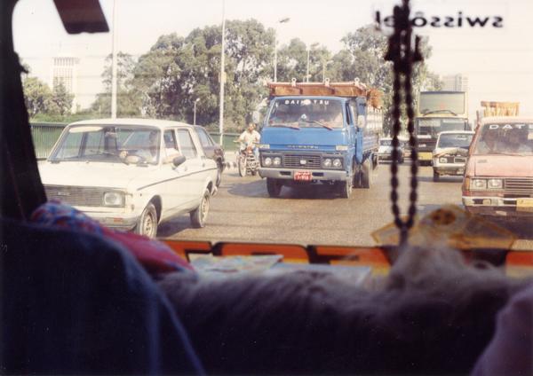 Cab Ride Through Cairo