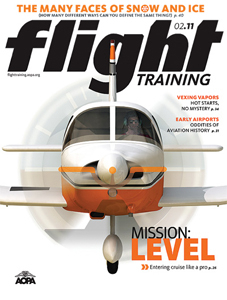 AOPA Flight Training - License to Learn issue - Feb 2011
