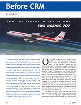 Airways - Before CRM