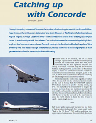 Airways - Catching Up With Concorde