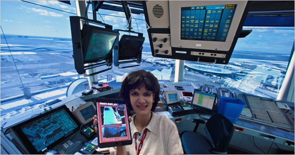 Paris ATC Controller Myriam in the CDG Tower