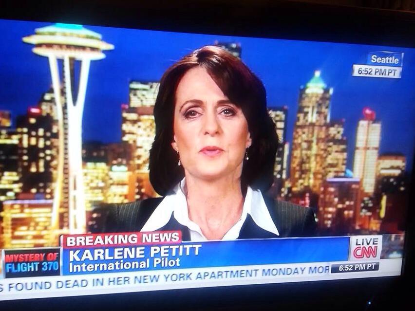 Karlene Petitt on CNN