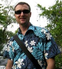 Musician Simon Ashby