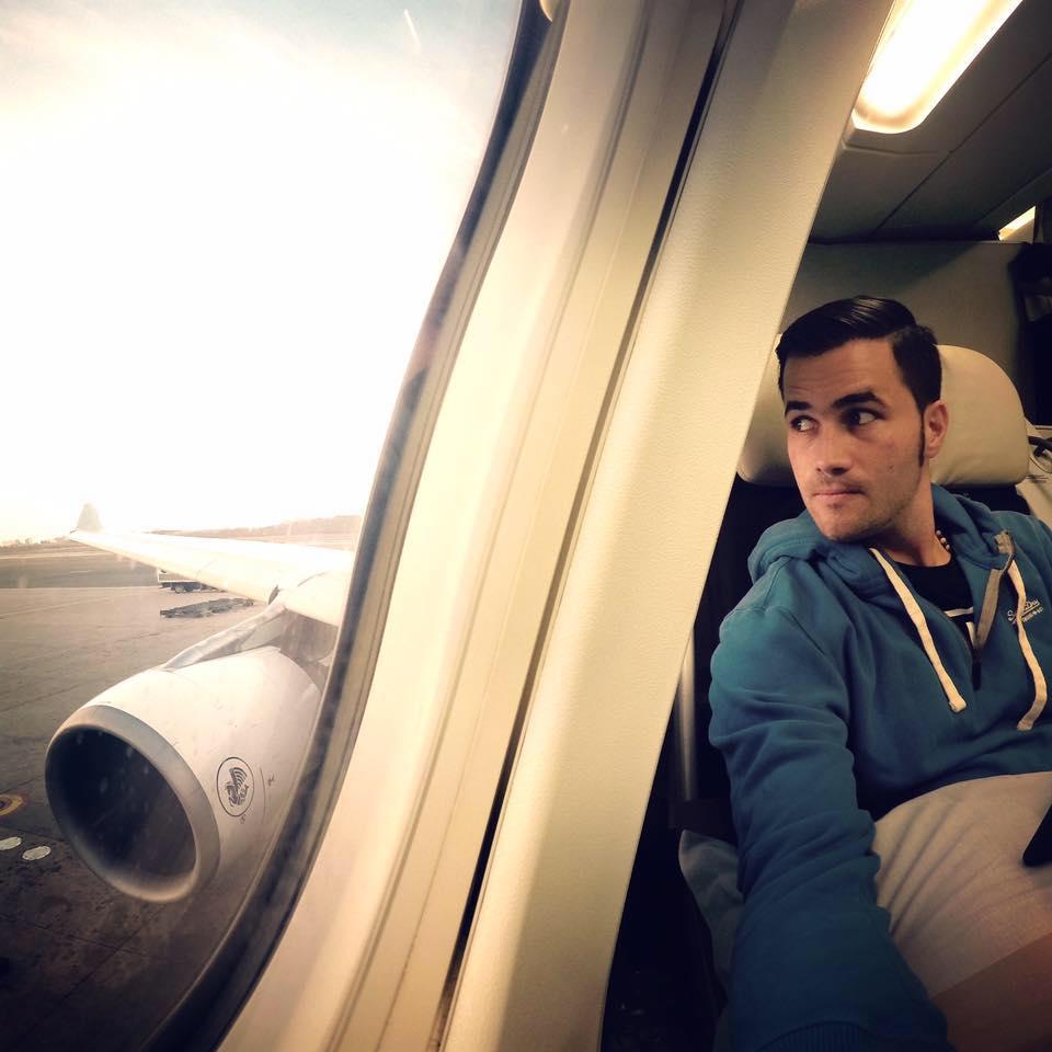 Enrique In Airliner